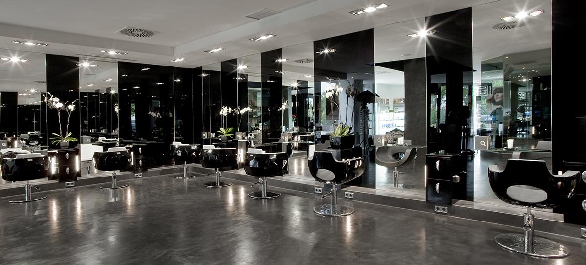 Gloria lara peluquer as sal n de belleza gloria lara for Disenos de espejos para peluqueria